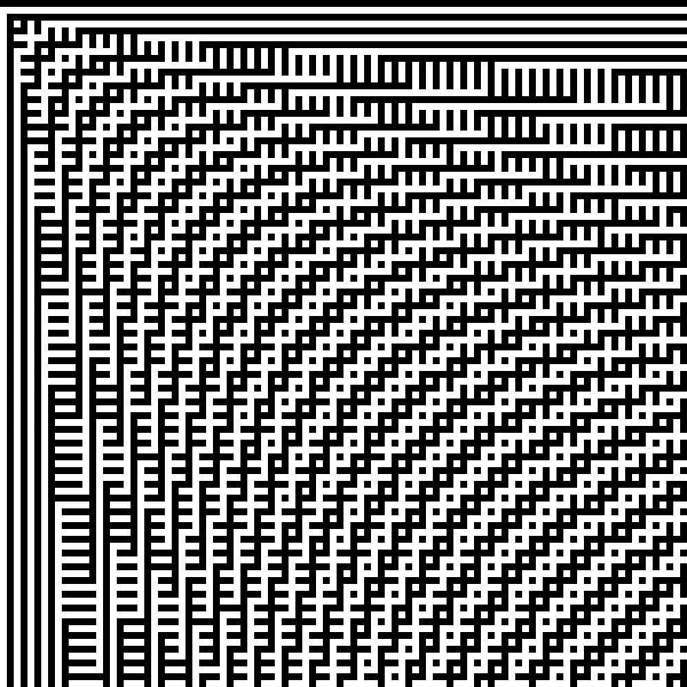 A048152 Parity Bitmap